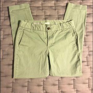 J CREW Frankie Stretch Pants